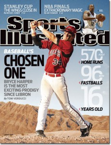No respect for Harper. Photo: Sports Illustrated