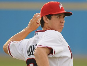Can Milone get another win? Photo: Tom Priddy/Four Seam Images/milb.com