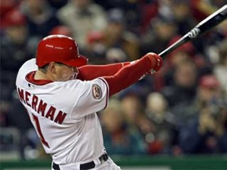 Zimmerman the outfielder?  Photo unknown via fantasyknuckleheads.com