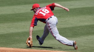 Espinosa continues to be the leading player on the minds of Nats fans. Photo AP via mlb.com