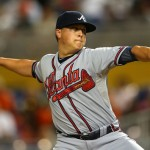 Can Kris Medlen stop the Kershaw train tonight? Photo unknown via totalprosports.com
