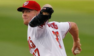 Strasburg's K/9 is amazing so far in 2014. Photo unk via thewifehatessports.com