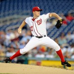 "Jordan Zimmermann was the real ""ace"" of the 2013 Nats.  Photo Unk."