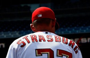 Strasburg is the lynchpin in the Nats off-season FA plans. Photo allansgraphics.com