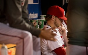 Lets Hope Storen doesn't have days like this in Toronto. Photo Andrew Harnik/washingtontimes.com