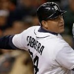 Cabrera keeps the BBWAA in the news for the 2nd year in a row.  Photo AP via sportingnews.com
