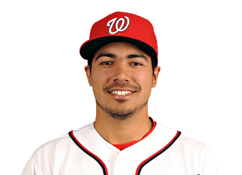 Rendon's 2014 5th place MVP result is the highest ever for a Nat.  Photo Nats Official via espn.com