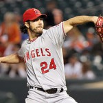 The Angels traded the farm to get Dan Haren a few years ago; would they make that same trade again?  Photo unknown via wikipedia