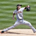 What would you pay Lincecum in 2014?  Photo via SD Dirk flickr via wikipedia