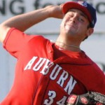 Giolito is rising the ranks of prospects baseball-wide.  Photo unk via federalbaseball.com