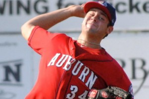 Giolito is Keith Law's (and others) highest ranked RHP prospect right now. Photo unk via federalbaseball.com