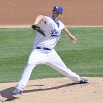 Kershaw leads the best rotation in the playoffs. Photo via wiki.