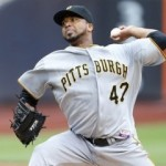 Will Liriano pitch the PIrates deeper into the post-season?  Photo by Rich Schultz/Getty Images