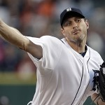 Scherzer's dominant Cy Young season brings the Tigers to the top.  Photo AP Photo/Paul Sancya