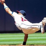 Andrelton Simmons put up what most consider the best defensive season of 2013.  Photo via espn.go.com