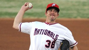 Taylor Hill is one of the younger hurlers in AAA.  Photo via milb.com/Potomac Nats official