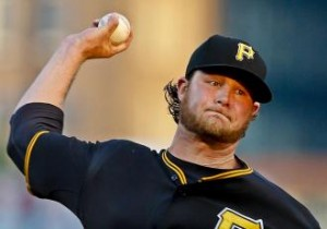 Gerrit Cole won the latest installment of #1 versus #1 overall drafted pitchers.  AP Photo via sporting news.