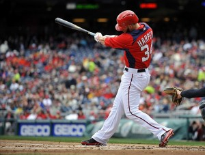 Harper is quickly becoming the Nats most decorated player. Photo via fansided.com