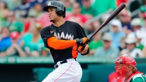 Stanton blasting another 450-foot homer.  Photo unk via rantsports.com