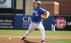 Duke RHP and Great Falls resident Mike Matuella has rocketed up the draft boards for 2015.  Photo via dukechronicle.com