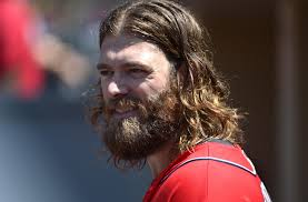 Werth looking shaggy; i'd like to see this beard in the leadoff hole. Photo via fansided.com