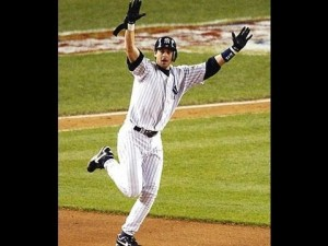 Aaron Boone's career achievement.  Photo via youtube.com screenshot.