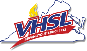 logo via vhsl.org, the Virginia High School League.