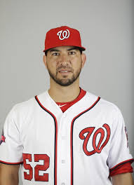 Rough week for Martin. photo Nats official