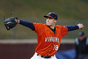 Nathan Kirby is the highest drafted player with local ties.  Photo via collegebaseballcentral.com