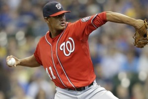 Joe Ross has been a revalation at the MLB level.  Photo Getty Images via federalbaseball.com