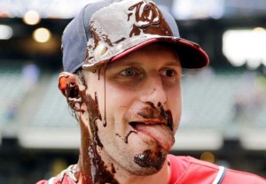 Maybe they'll bring back out chocolate if Scherzer wins game 5. Photo via thesportsquotient.com