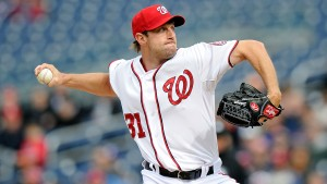Scherzer leads the MLB rotation for a second year. Photo via sportingnews.com