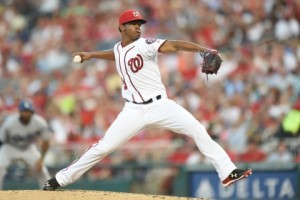 Lopez 2016 Nats minor league pitcher of the year; will it matter? Photo via wp.com/Mitchell Layton getty images