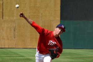 Fedde probably #1 arm in the system ... and its tough after that. Photo via minorleagueball.com