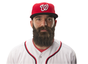 We'll need a new leader in the clubhouse for best facial hair now. Photo Nats 2016 official