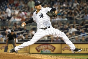 Arbitration cases are already touchy enough; why did the Yankees president go out of his way to attack one of his best relievers? Photo via airball.com