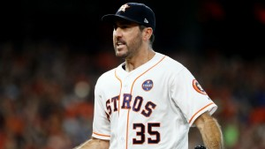 Verlander could be a difference maker in the World Series. Photo via sporting News.