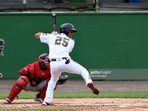 Juan Soto has picked up in High-A right where he left off in Low-A. Photo via Getty images