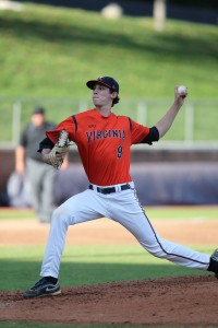 UVA's Daniel Lynch is the highest-drafted DC/MD/VA player for 2018. Photo via Richmond Times Dispatch