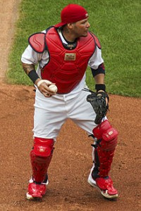 I guess we should just pencil in Molina's name every year until he retires. Photo via wikipedia